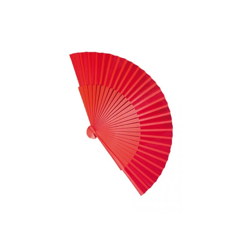 Wachlarz flamenco 23cm czerwony