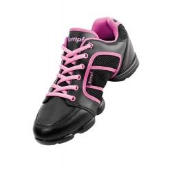 Sneaker Funky 1590 schwartz/pink