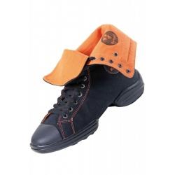 Rumpf Two Star Sneaker 1561 Czarne/pomarańczowe