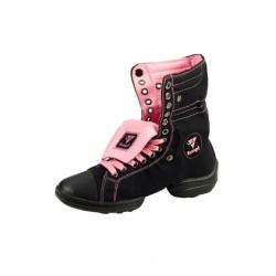 Rumpf Two Star Sneaker 1561 Czarne/różowe